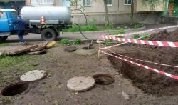 Продовження ремонту трубопроводів в Кропивницькому