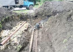 Плановий ремонт трубопроводу за адресою вул. Волкова,18